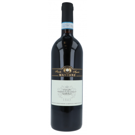 NEBBIOLO – LANGHE D.O.C. 2016 - MANZONE